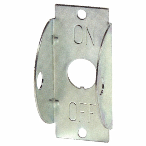 Cole Hersee 82465 Walled Faceplate Switch Guard For